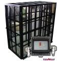 Клетка + устройство AirD PRO-10 для автоматического накачивания грузовых колес