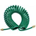 Шланг спиральный для пневмоинструмента JAZ-7214E, 5 мм х 8 мм х 8 м