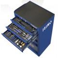 Тележка инструментальная 6-ящиков с набором инструмента 177 предметов, IRIMO (Испания)