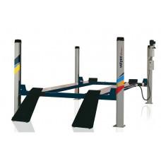 Подъемник четырехстоечный г/п 5500 кг. платформы гладкие Velyen (Испания) арт. 4ED0600F