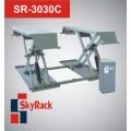 Передвижной автомобильный ножничный электрогидравлический подъемник SR-3030C, 3000 кг.