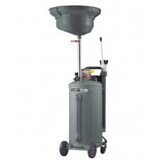 Установка для слива и откачки масла/антифриза, мобильная KRW1832.80 KraftWell