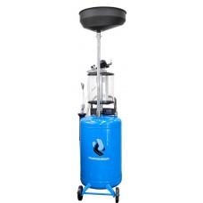 MC7003 Установка для замены масла со сливной воронкой щупами и колбой 70 л.