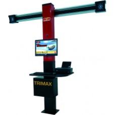 Двухкамерный 3D стенд TRIMAX для регулировки углов установки колес легковых автомобилей
